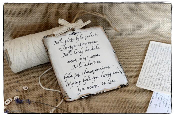 Szyld Cytat Motto Tabliczka Sentencja Rocznica ślubu