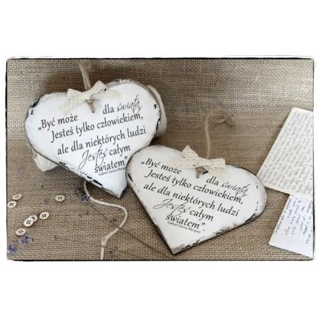 Szyld Tabliczka Serce Cytat Motto ~ O Miłości...~