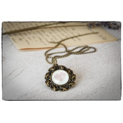 Medalion z łańcuszkiem ~Serce~