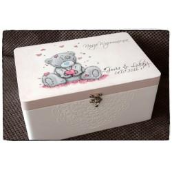 Pudełko z okazji Ślubu Młodej Parze