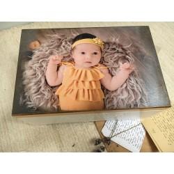 Kuferek ze zdjęciem Twojego Dziecka ~Melissa~