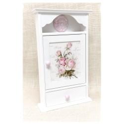 Szafka na klucze z szufladką ~~Róże~~
