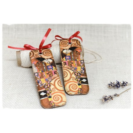 Zakładka do książki ~Pocałunek~ Gustav Klimt